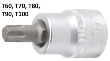 Bit Socket 20 mm (3/4) Drive T-Star (for Torx)