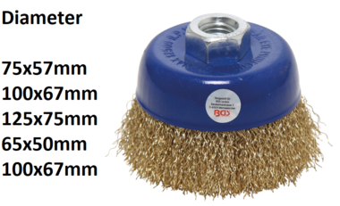 Wire Cup Brush M14 x 2 Drive