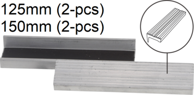 Bench Vice Jaw Protector Aluminium