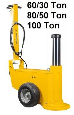 Mining heavy duty air hydraulic jack