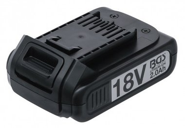Replacement Battery Li-Ion 18 V / 2.0 Ah for Cordless Impact Wrench BGS 9928