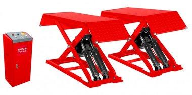 Scissor lift 3-tonnes 230V