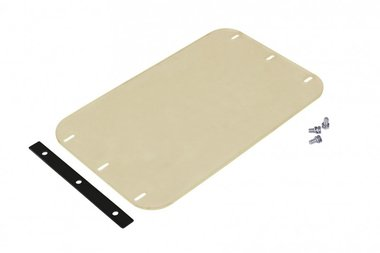 Polyester damping mat for vibratory plate