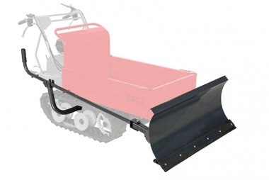 Snow plough for minidumper MRP300/MRD300