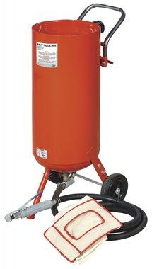 Mobile sandblasting boiler 75 litres