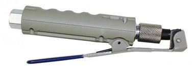 Gun for sandblasting boiler