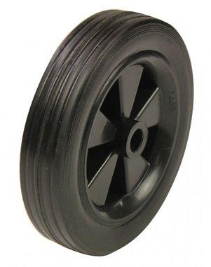 Wheel for sandblasting boiler