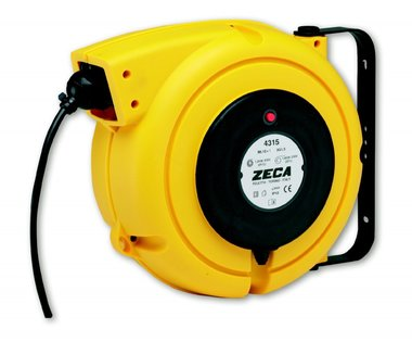 Cable reel 9m - 4x2.5 mma²
