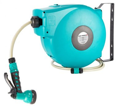 Professional, sturdy automatic hose reel for water