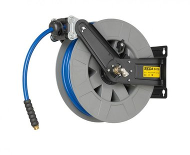 Air and water reel 20m/12.5mm with kpu hose