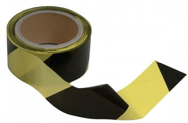 Ribbon outlet black-yellow 50mm