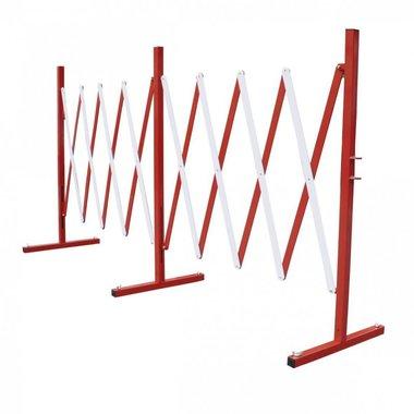 Metal scissor fence up to 4 meters