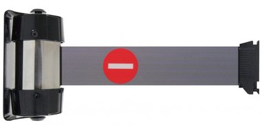 Barrier tape ban wall mounting 2.1m