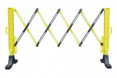 Flexible fence yellow/black