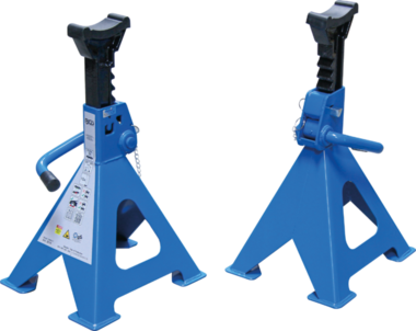 Axle Stands load capacity 6 ton / pair stroke 382-600mm 1 pair
