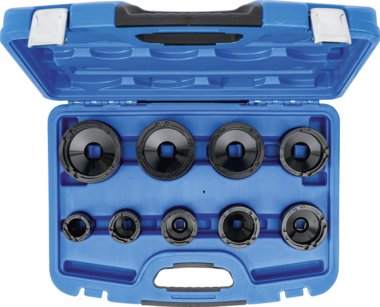Groove Nut Socket Set inside taps KM4 - KM12 9-pcs