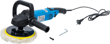 Electric Polisher max. 3000 rpm 1300W diameter 180mm