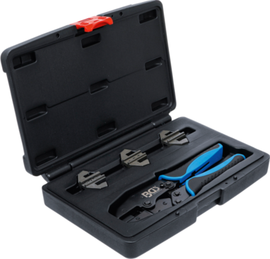 Crimping Pliers Set for Solar Connectors MC3 / MC4 / Tyco 4-piece