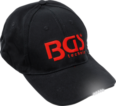 BGS Baseball Cap with LED Lamp