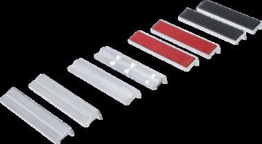 Bench Vice Jaw Protector Set Aluminium 150 mm 8 pcs