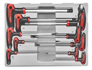 Hex ball point grip key set 10pc