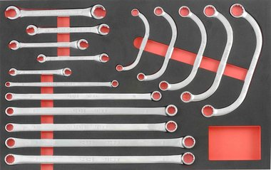 Foam Special Wrench set 16pc
