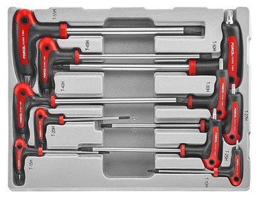 Star tamperproof grip key set 10pc