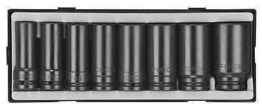3/4 Flank impact deep socket set 8pc