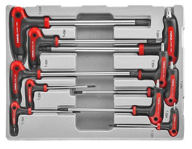 Star tamperproof grip key set 10pc