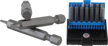 Screw Extractor Set for damaged internal Hexagon 1.5 - 6 mm 7 pcs