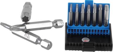 Screwdriver Set for damaged T-Star (for Torx) T10 - T40 7 pcs