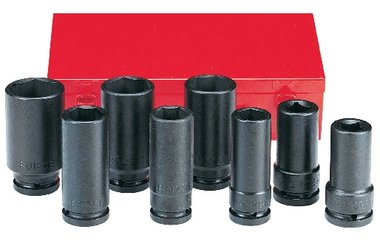 3/4 Impact deep socket set 8pc