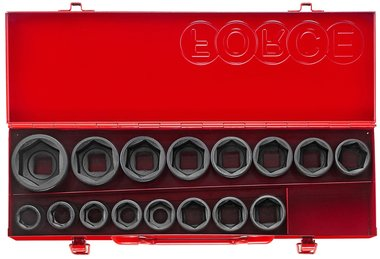 3/4 Impact socket set 16pc