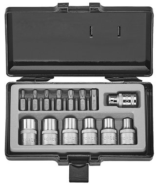 Star socket & bit set 14pc