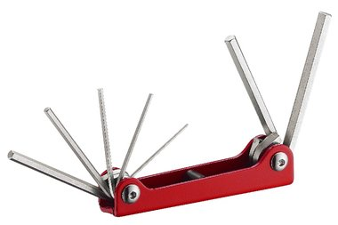 Folding Hex key set 7pc