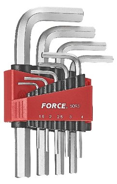 Hex key set 9pc