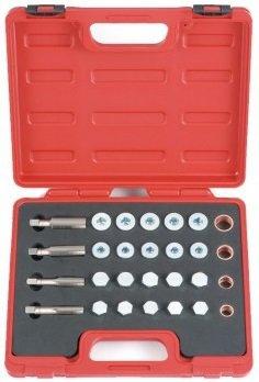 Oil drain repair kit 64-piece