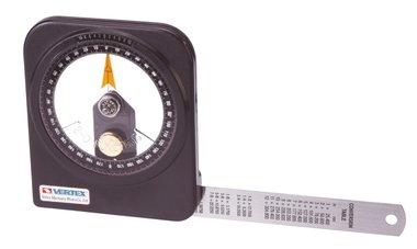 Oil-immersed goniometer - plastic - 0.1°