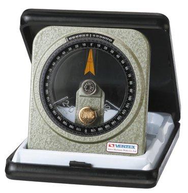 Oil-immersed goniometer - metal - 0.083°