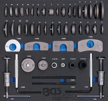 Tool Tray 2/3: Brake Piston Wind Back Set 50 pcs