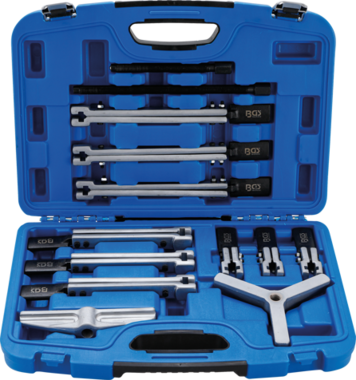 External / internal Puller Set, 2 and 3-arm 13 pcs