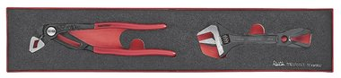 Water pump pliers and wrench eva set