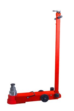 Hydropneumatic roller jack with capacity 40 tons