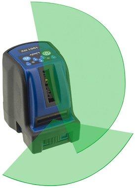 Cross line laser 2 lines with green laser light