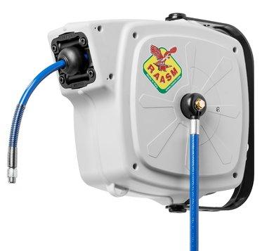 Reel air/water 20 bar pu hose 10mm
