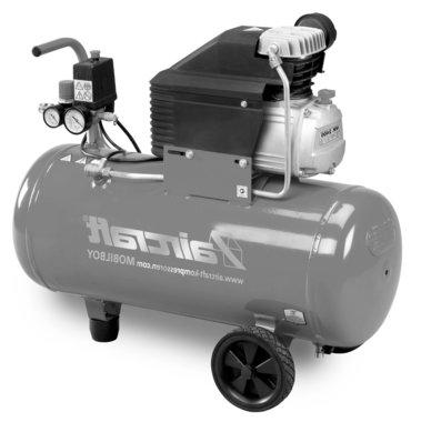 Mobile compressor hos 8 bar, 50 liter