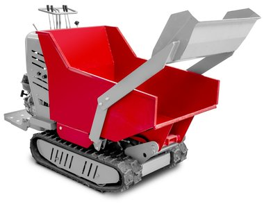 Mini hydrostatic crawler dumper with cargo box 500kg