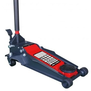 Hydraulic Garage Jack with Foot-operated 2.5-Ton