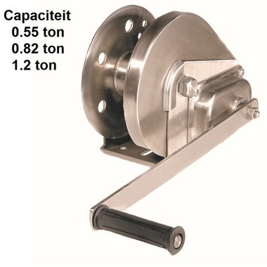 Hand winch BHW Galvanized steel