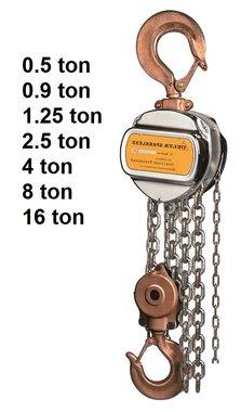 Spark proof manual chain hoists